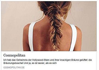 bitte klicken Sie auf das Bild um den vollständigen Bericht auf Cosmopolitan.de zu lesen.